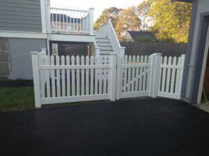 Vinyl Fence Installation New England